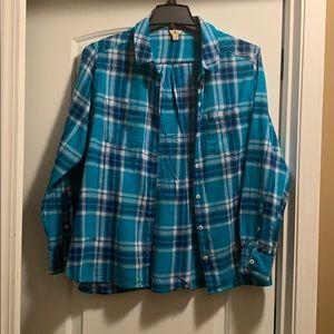Wool rich Flannel shirt